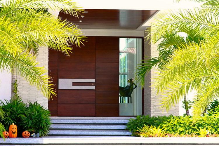 Porta di ingresso dal design moderno n.07