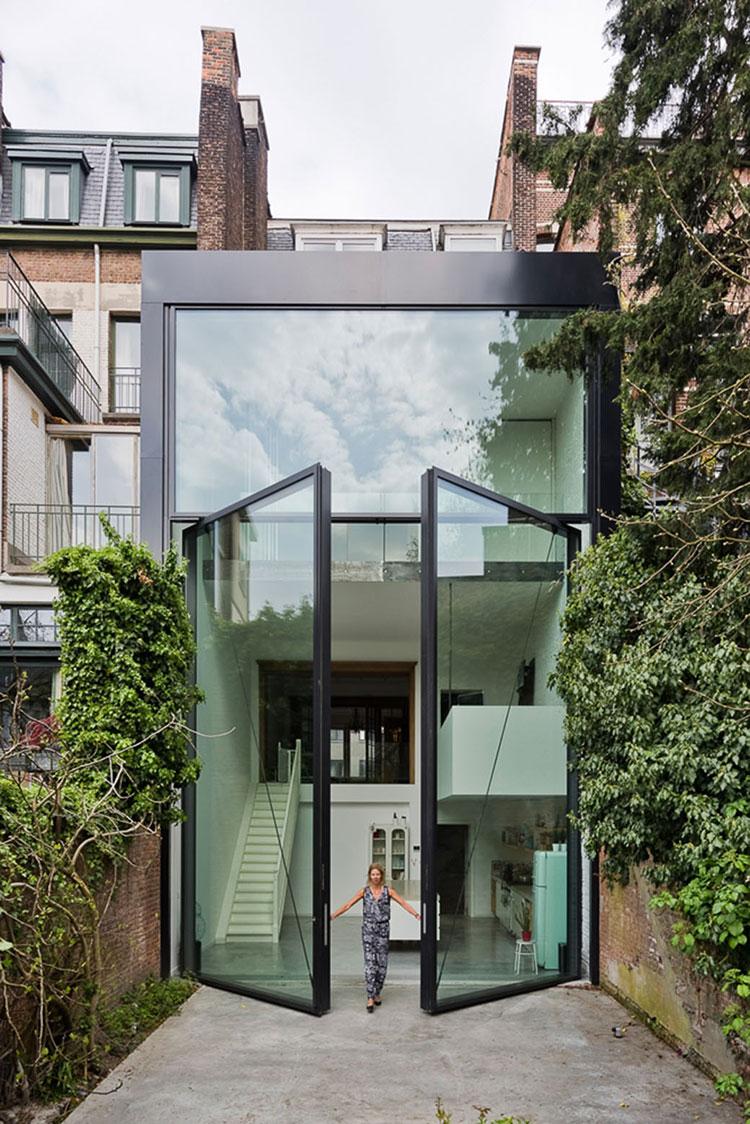 Porta di ingresso dal design moderno n.08