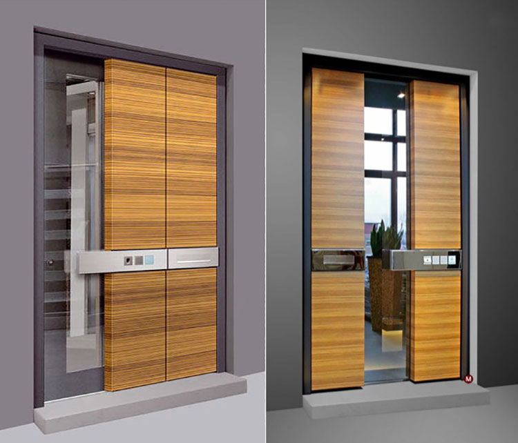 Porta di ingresso dal design moderno n.09