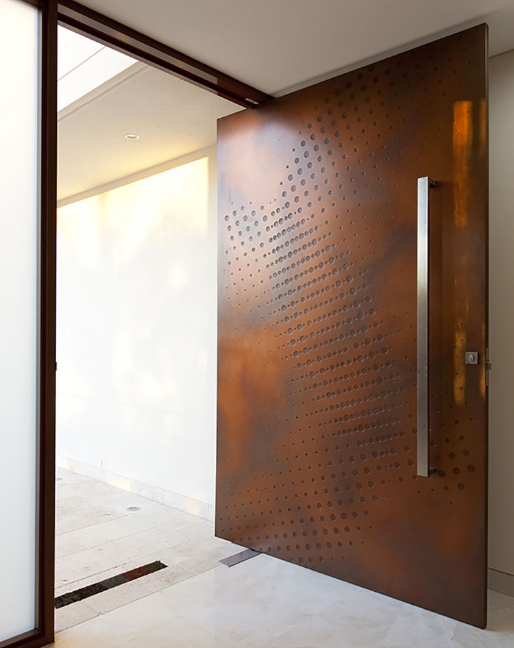 Porta di ingresso dal design moderno n.10