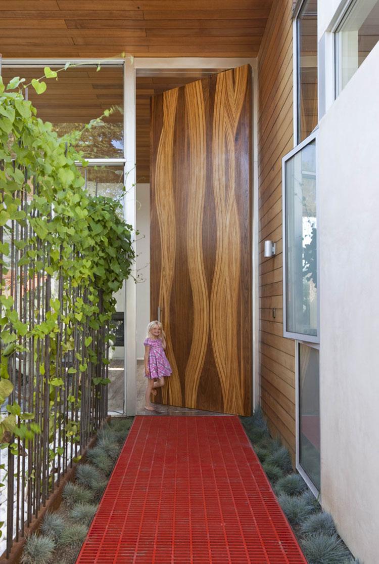 Porta di ingresso dal design moderno n.11