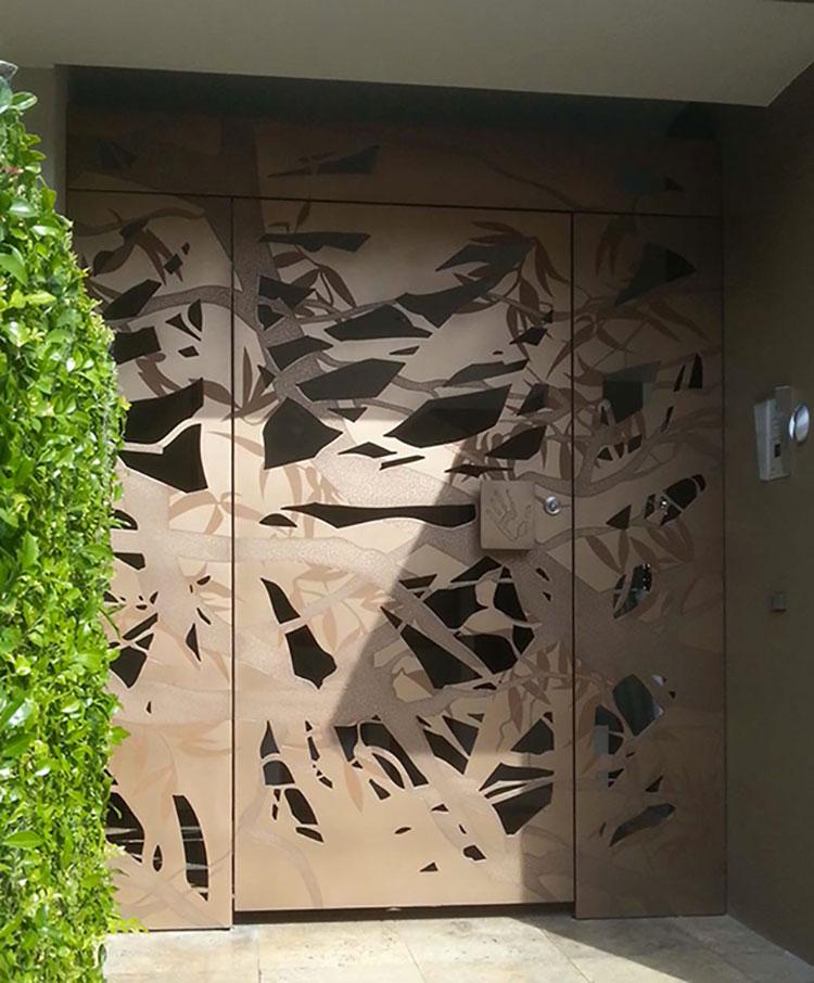 Porta di ingresso dal design moderno n.15