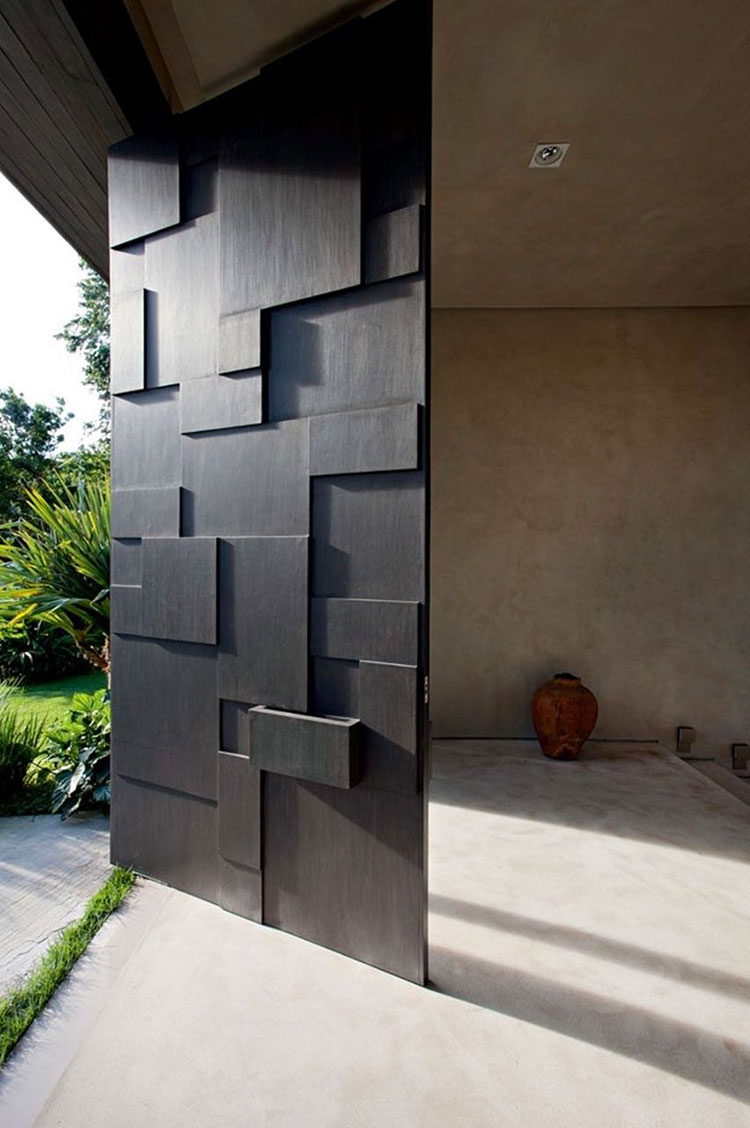 Porta di ingresso dal design moderno n.17