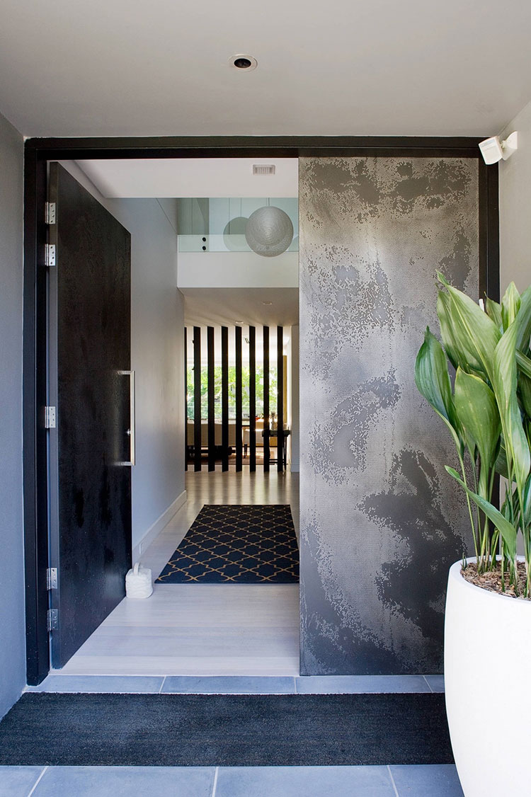 Porta di ingresso dal design moderno n.18