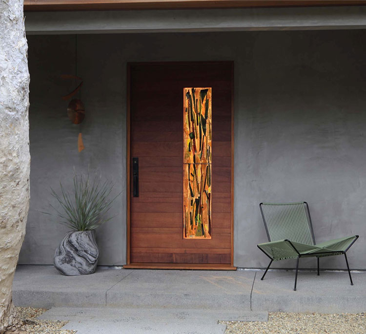 Porta di ingresso dal design moderno n.23