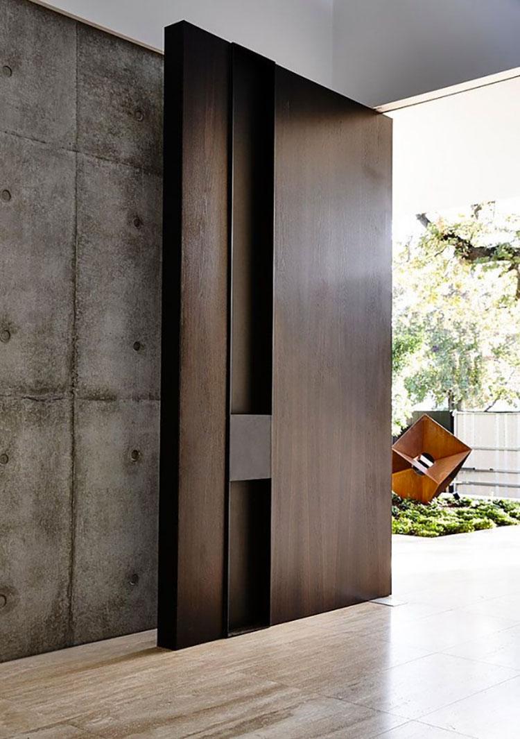 Porta di ingresso dal design moderno n.26