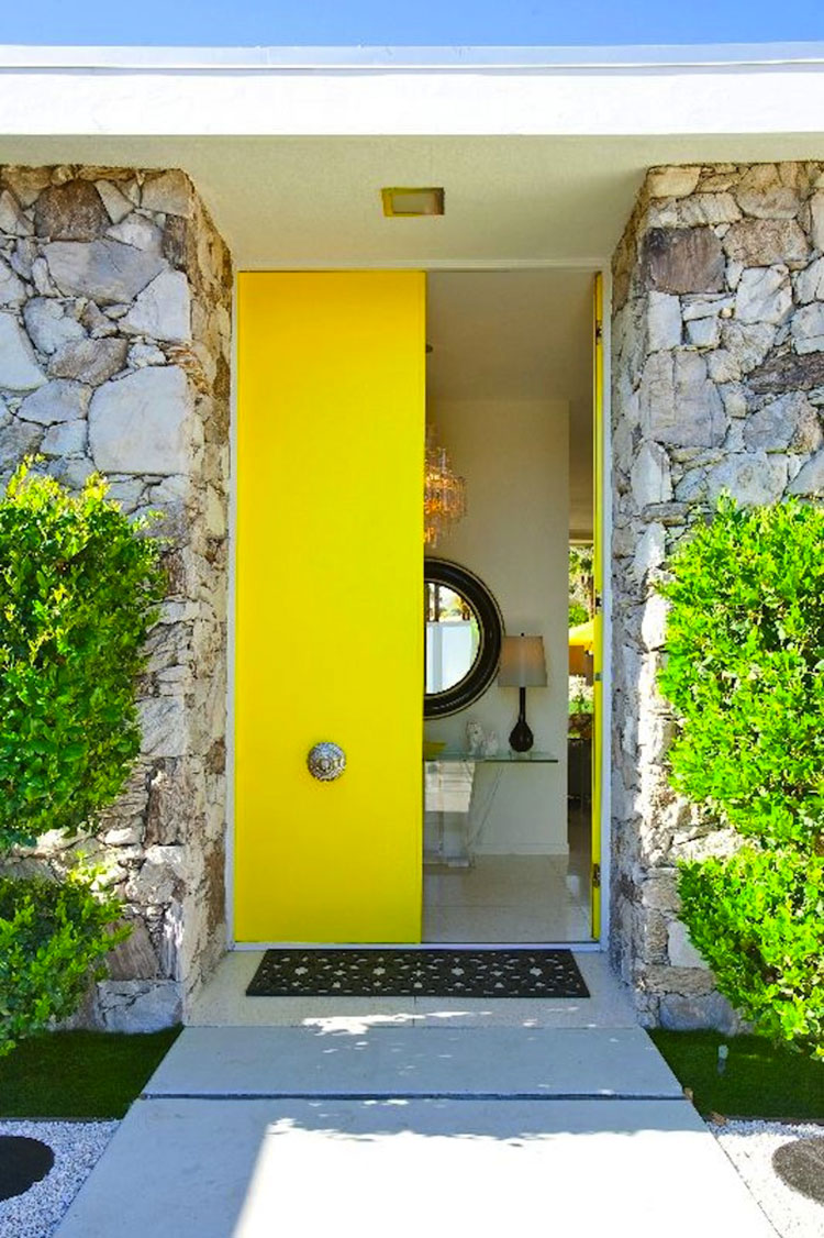 Porta di ingresso dal design moderno n.31