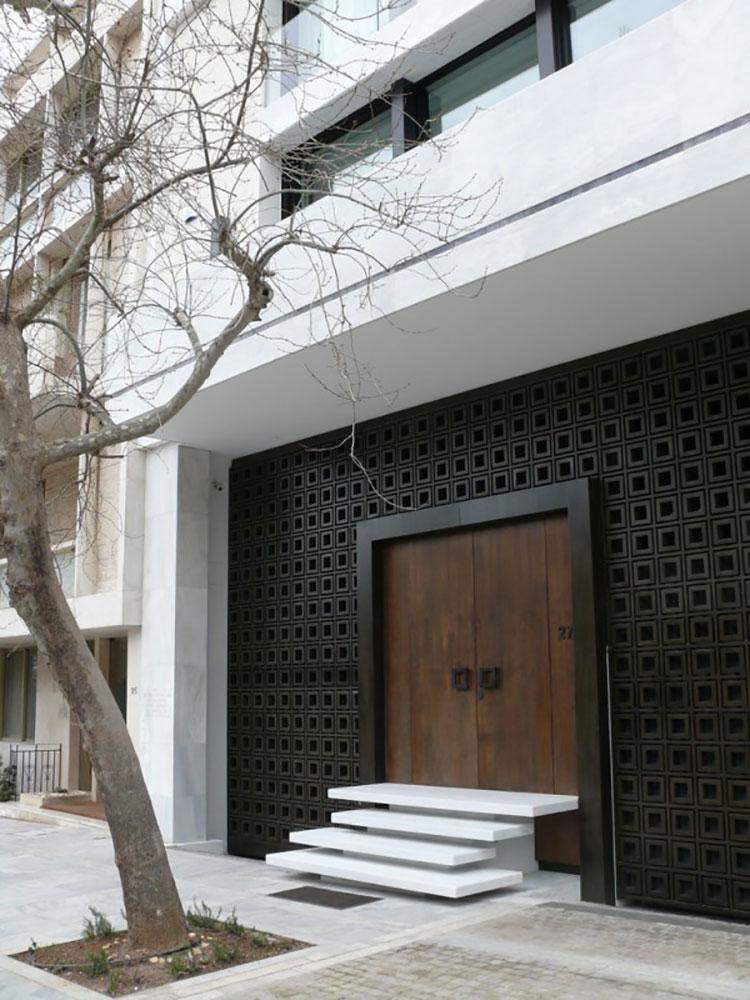 Porta di ingresso dal design moderno n.33