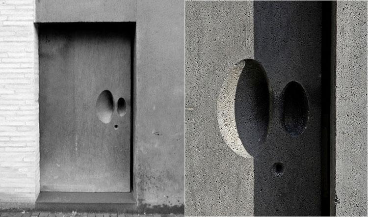 Porta di ingresso dal design moderno n.34