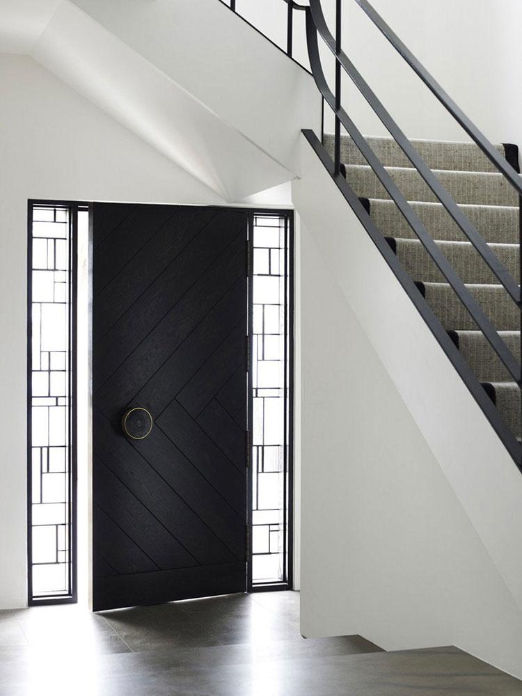 Porta di ingresso dal design moderno n.35