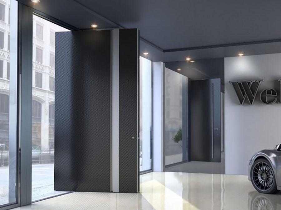 Porta di ingresso dal design moderno n.37