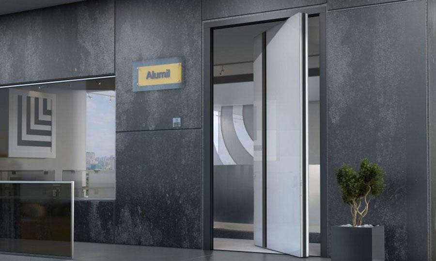 Porta di ingresso dal design moderno n.38