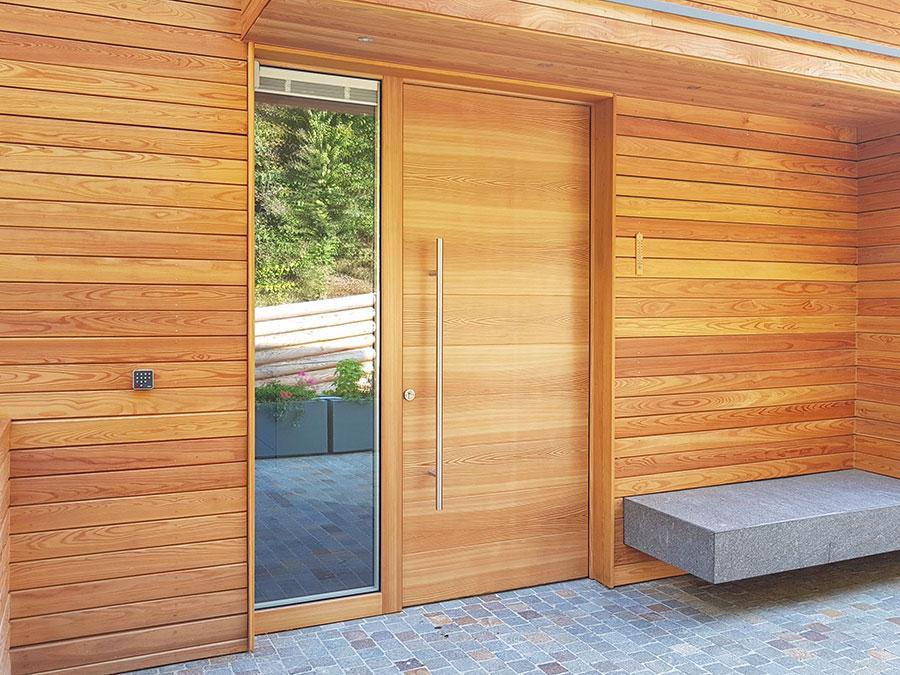 Porta di ingresso dal design moderno n.40