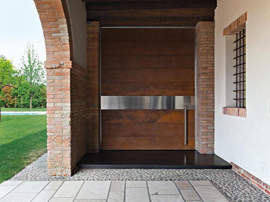 Porta di ingresso dal design moderno n.42