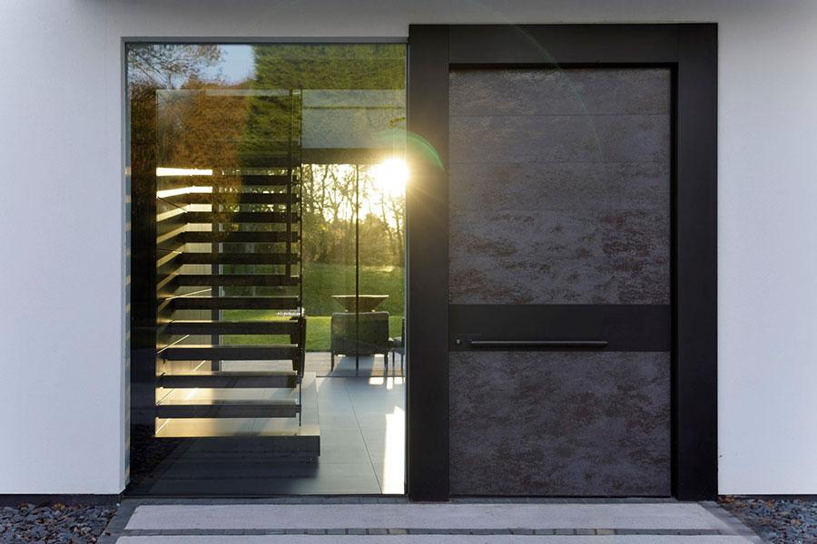 Porta di ingresso dal design moderno n.43