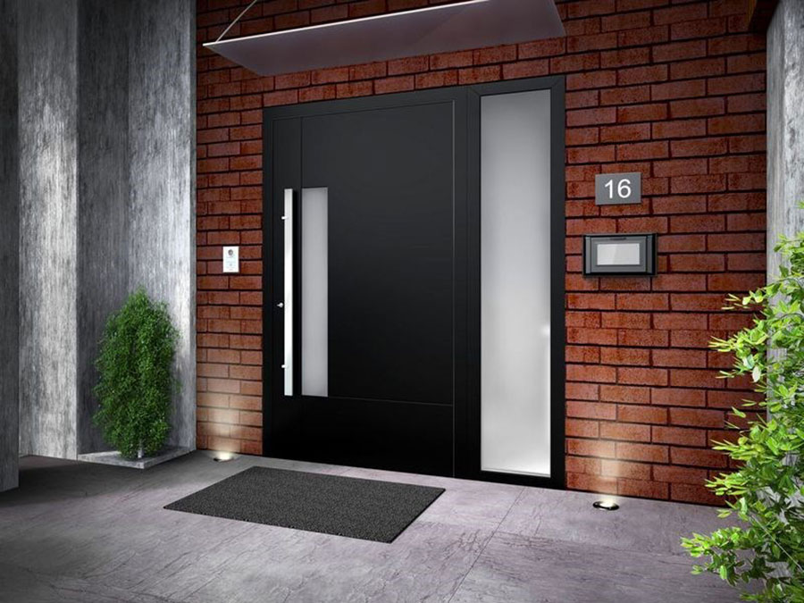 Porta di ingresso dal design moderno n.44