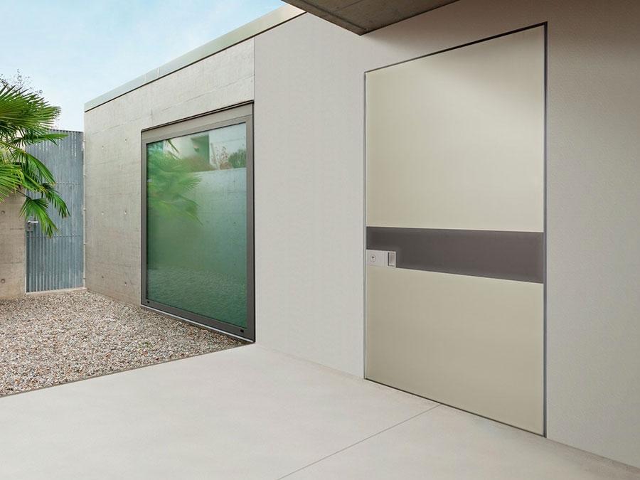 Porta di ingresso dal design moderno n.45