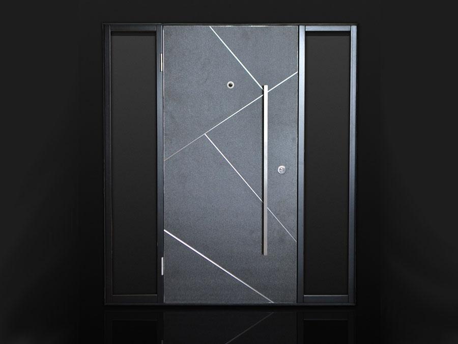 Porta di ingresso dal design moderno n.47