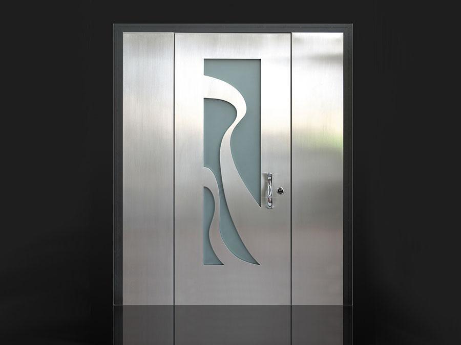 Porta di ingresso dal design moderno n.50