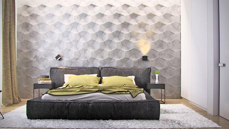 Modello di rivestimento da parete per camera da letto n.15