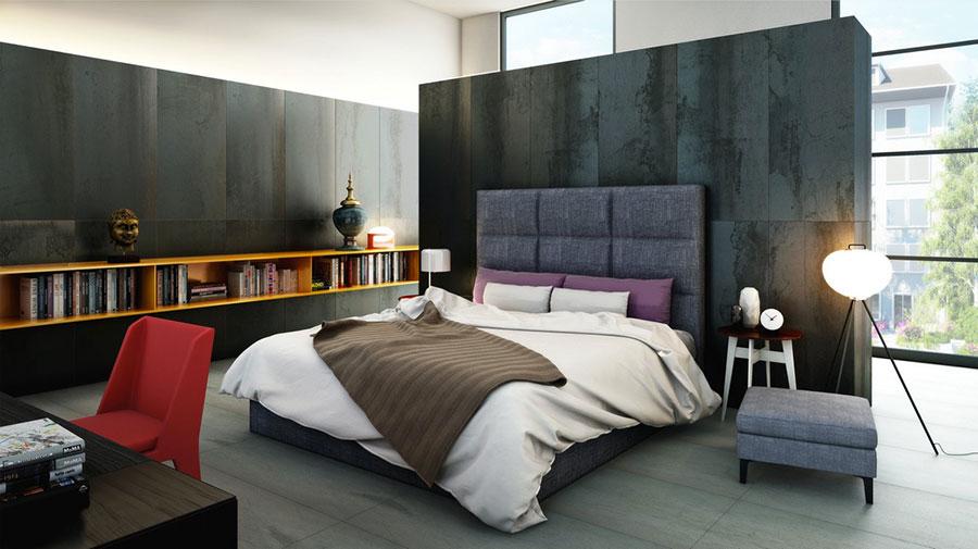 Modello di rivestimento da parete per camera da letto n.16
