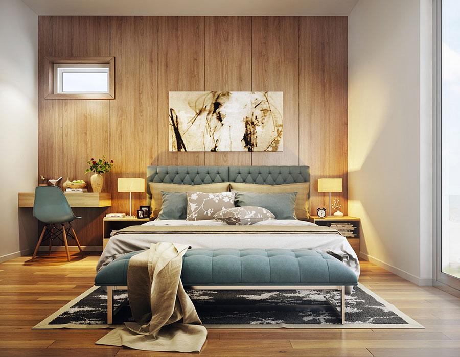 Modello di rivestimento da parete per camera da letto n.21
