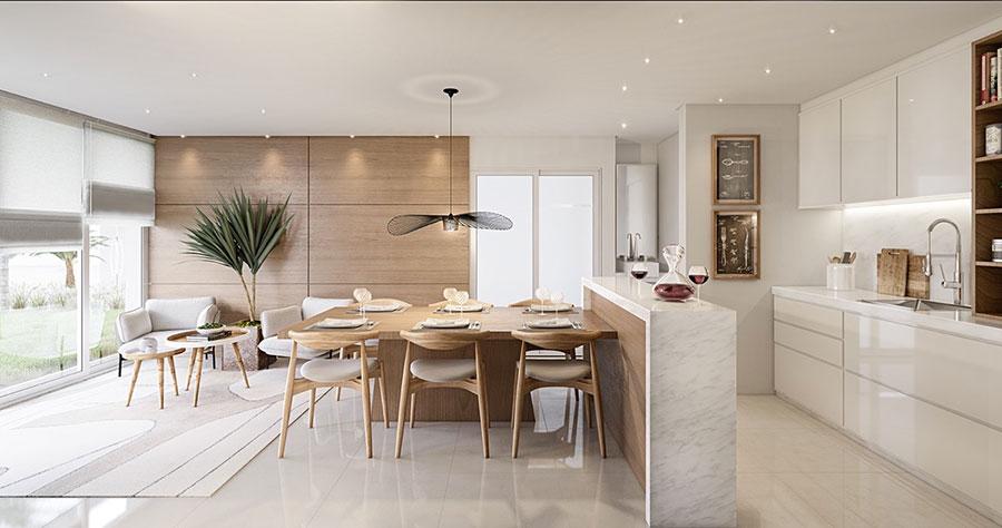Eccezionale 30 Idee per Arredare una Sala da Pranzo Moderna | MondoDesign.it HM97
