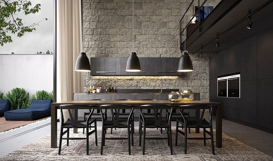 30 idee per arredare una sala da pranzo moderna for Muebles de oficina lujosos