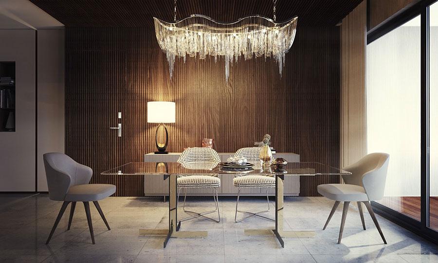 30 idee per arredare una sala da pranzo moderna for Tavoli da sala da pranzo moderni