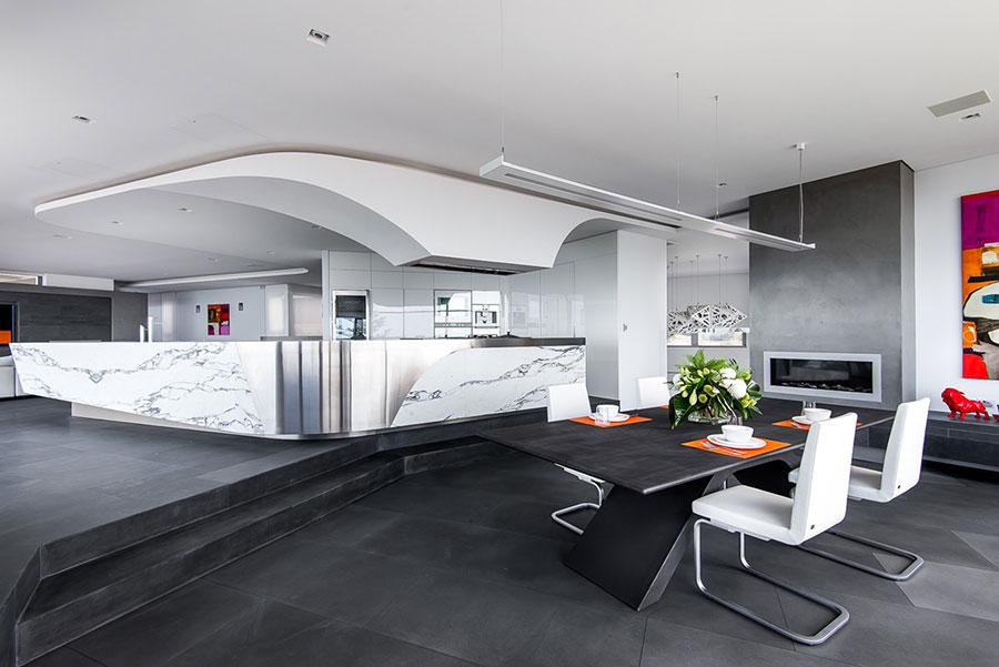 30 idee per arredare una sala da pranzo moderna for Idee per casa moderna