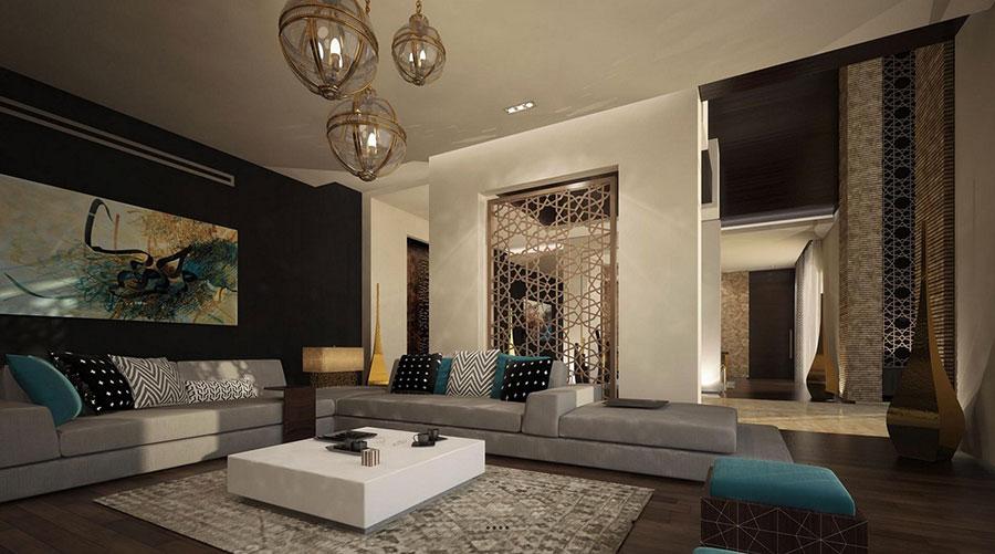 Luxury Ideas For Lavish Living Room Style: Salotto Marocchino: 20 Idee Per Arredare In Stile Esotico