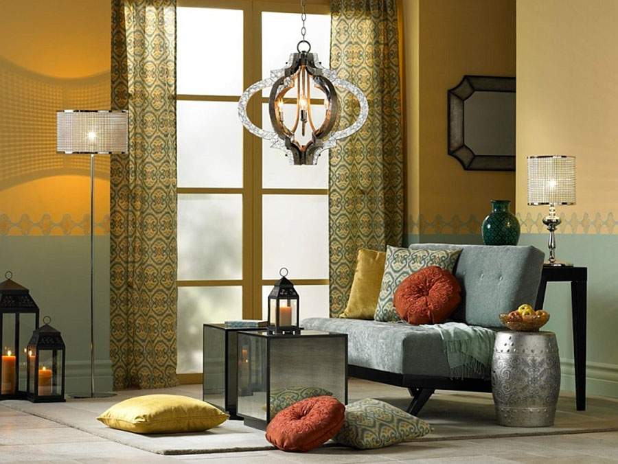 Idee per arredare un salotto marocchino n.14
