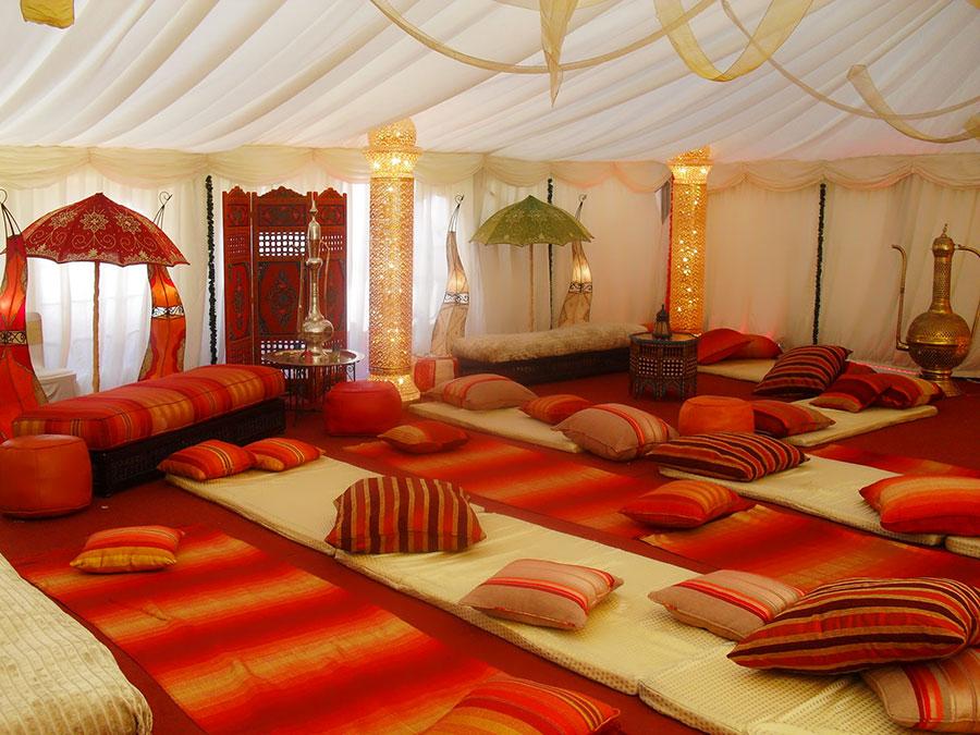 Idee per arredare un salotto marocchino n.15