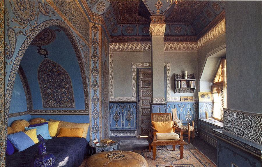 Idee per arredare un salotto marocchino n.19