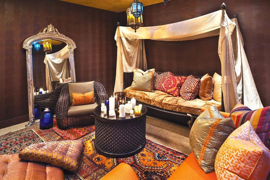 Idee per arredare un salotto marocchino n.20