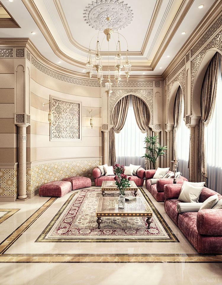 Idee per arredare un salotto marocchino n.22