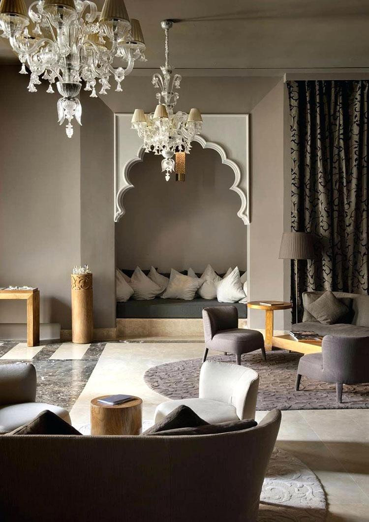 Idee per arredare un salotto marocchino n.23