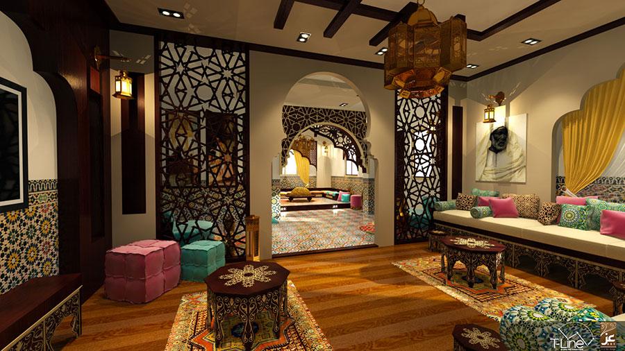 Idee per arredare un salotto marocchino n.24