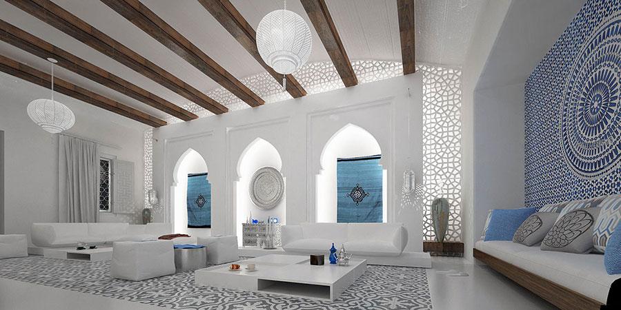 Idee per arredare un salotto marocchino n.25