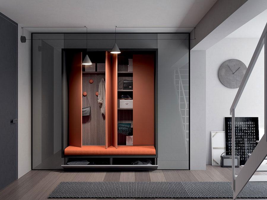Mobili per ingresso moderni dal design particolare for Armadi design moderno