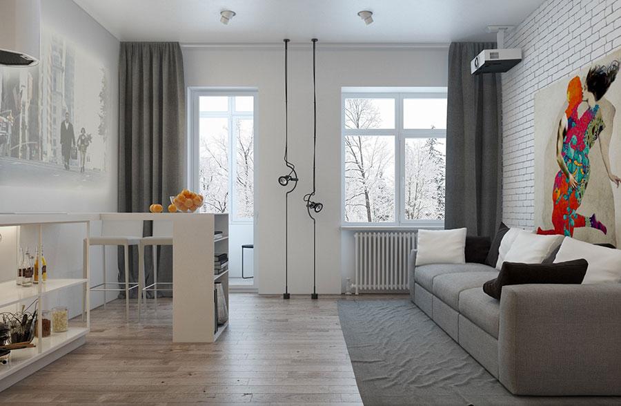 Come arredare loft piccoli spazi dal design moderno - Small space loft ideas design ...