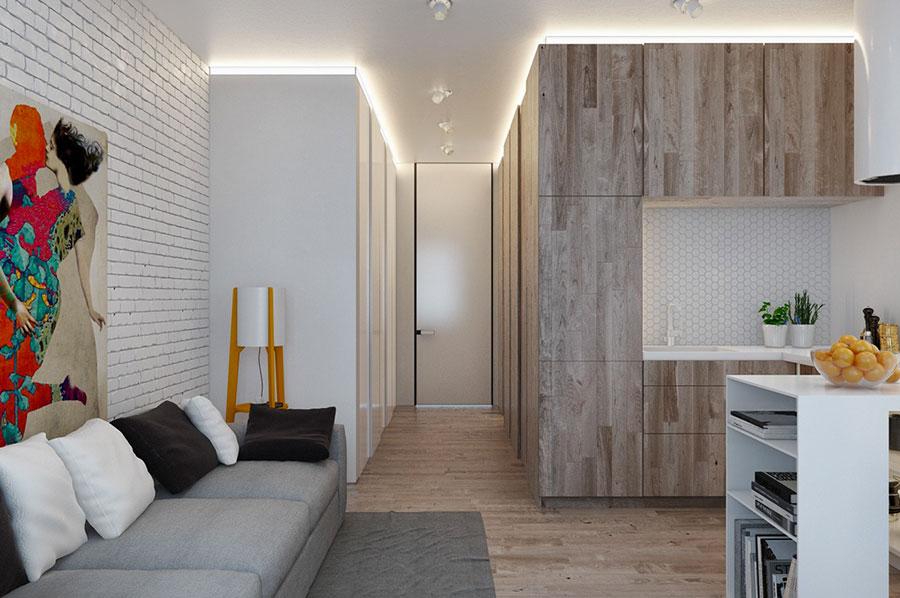 Come arredare loft piccoli spazi dal design moderno for Arredare piccoli appartamenti
