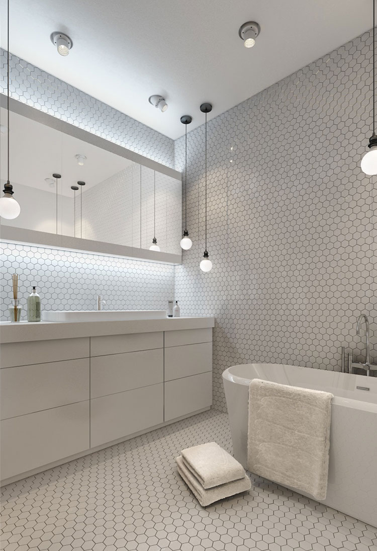 Come arredare loft piccoli spazi dal design moderno for Bathroom designs tumblr