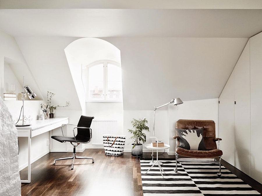 Idee per arredare uno studio piccolo in casa n.04