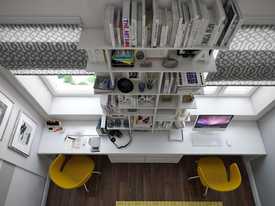 Idea per arredare uno studio in casa n.11