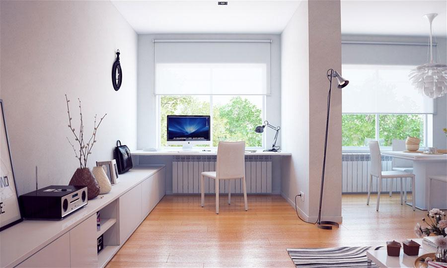 Idee per arredare uno studio moderno in casa n.02