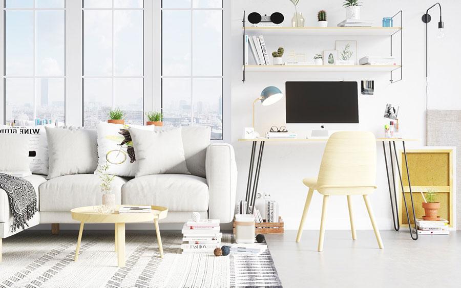 Idee per arredare uno studio moderno in casa n.03
