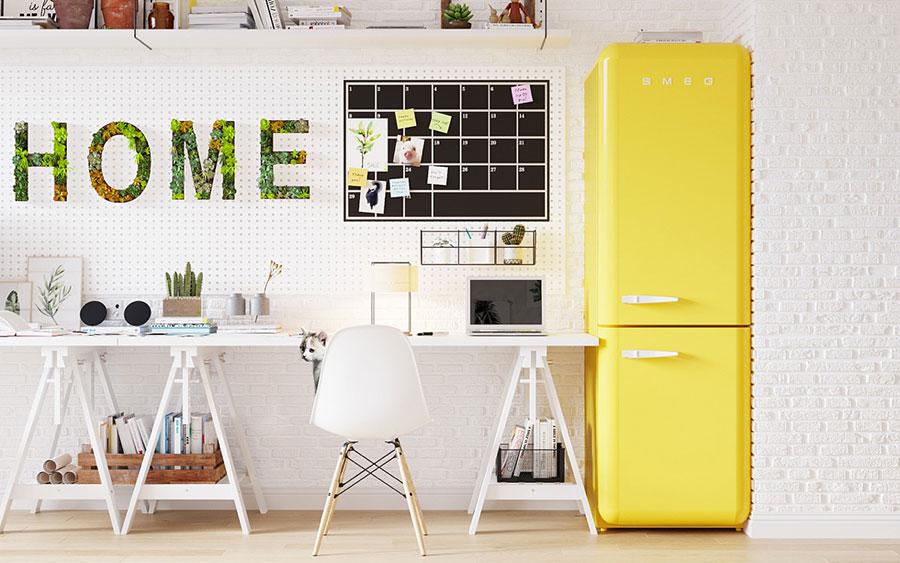 Idee per arredare uno studio moderno in casa n.04