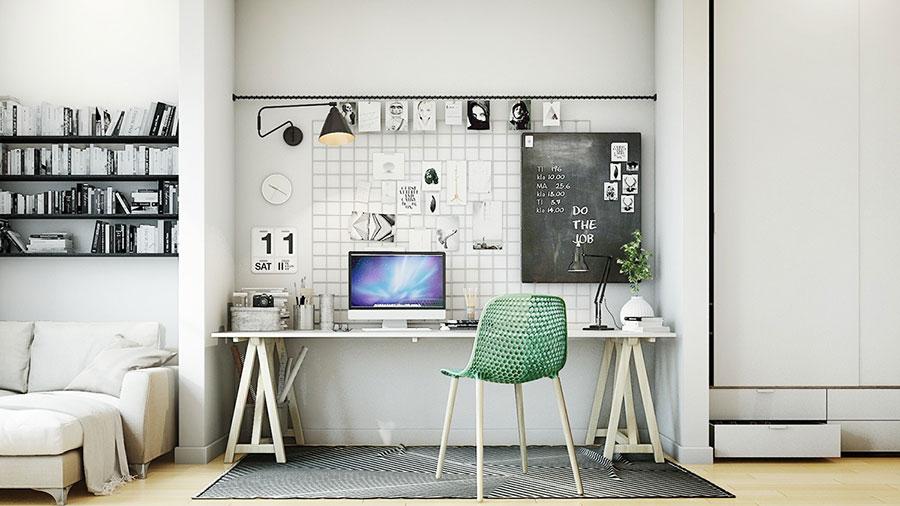 Idee per arredare uno studio moderno in casa n.05