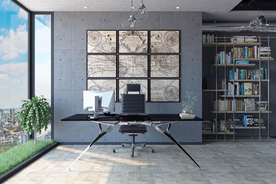 Idee per arredare uno studio moderno in casa n.06